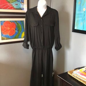 NWT Misguided wrap over jumpsuit.  Made in Italy.